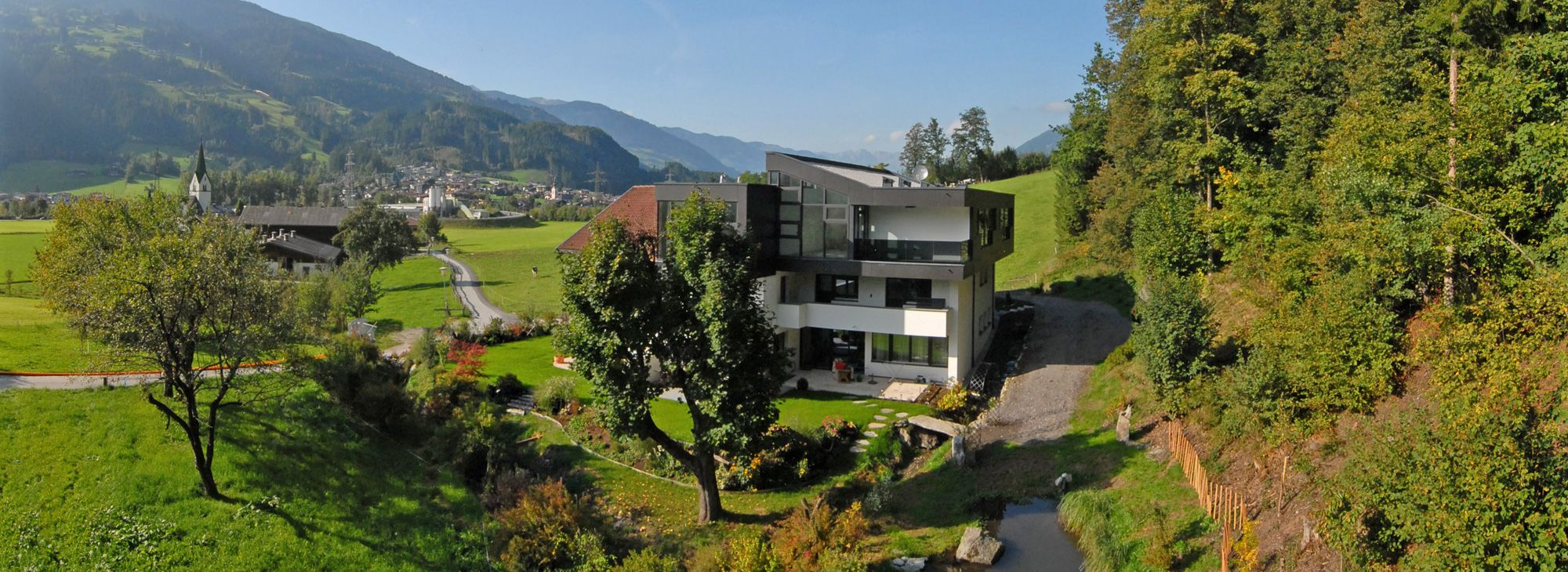 Moderne Apartments in Aschau im Zillertal